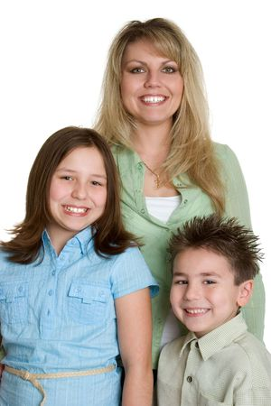 Happy Mom and Kids Stock Photo - 1358232