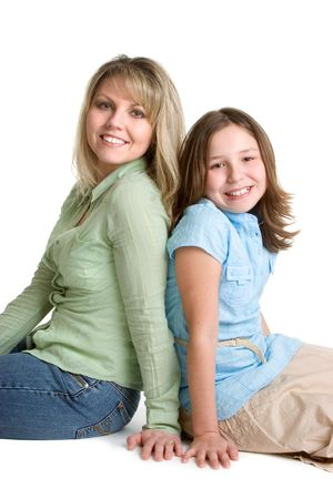 Mother and Daughter Stock Photo - 1358231
