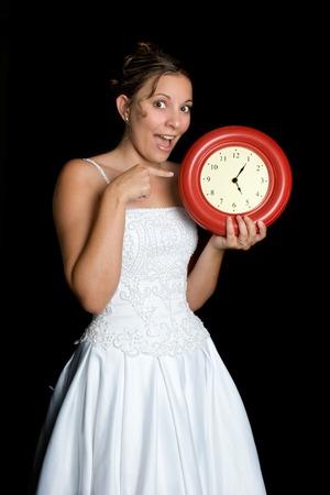 Excited Bride Stock Photo - 1413741