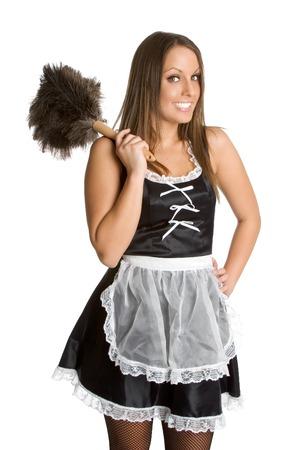 Pretty French Maid