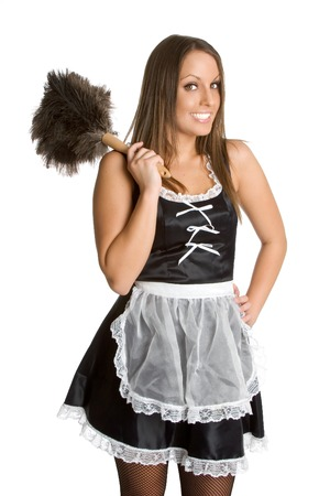 french maid: Pretty French Maid
