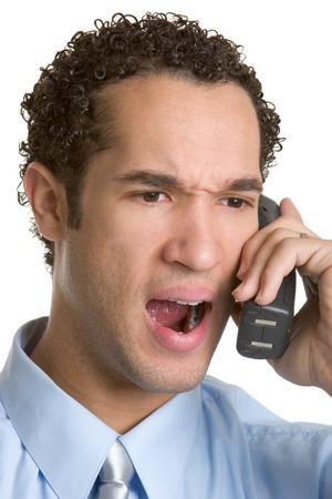 Yelling Phone Man photo