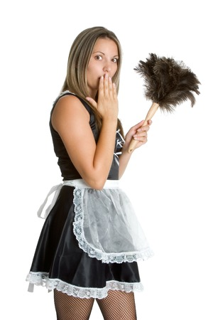 Sexy French Maid 写真素材