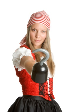 lacey: Pirate Costume Stock Photo