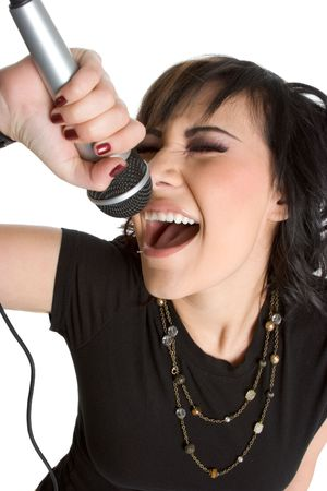 kareoke: Rock Star Stock Photo