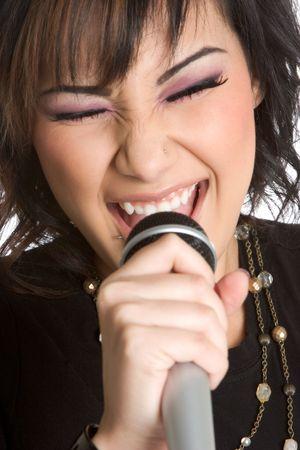 Beautiful Singer Stock Photo - 1827344