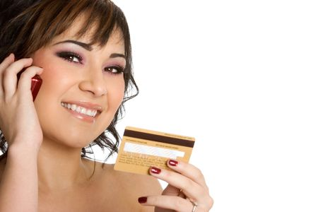 Credit Card Woman Stock Photo - 1885741