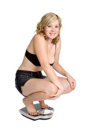 squatting: P�rdida de peso mujer