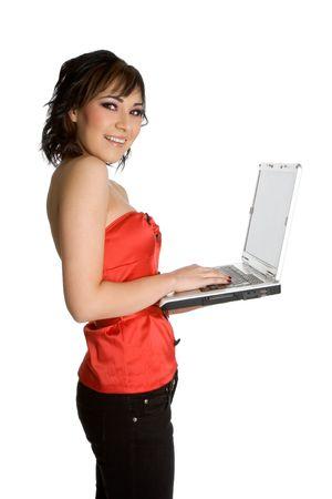 Laptop Woman Stock Photo - 1943952