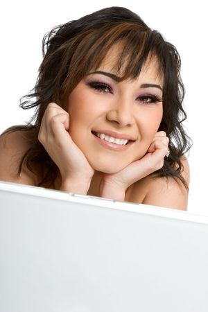 Laptop Woman Stock Photo - 1943956