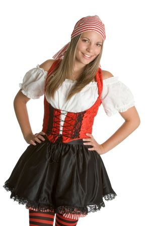 mujer pirata: Pirata Hermoso