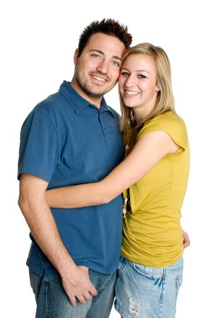 Young Couple Hugging Stock Photo - 2056945