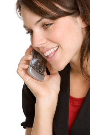 Phone Woman Stock Photo - 2092690