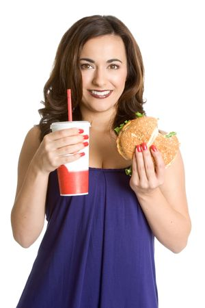 Fast Food Woman photo