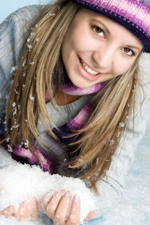 Snow Girl photo
