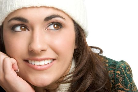 Winter Woman Stock Photo - 2204829