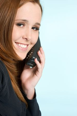 Phone Woman Stock Photo - 2296899