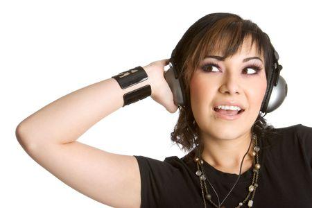 Headphones Girl photo