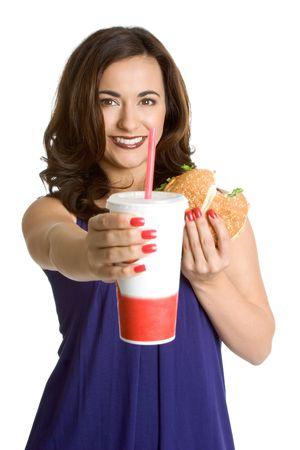 Fast Food Woman photo