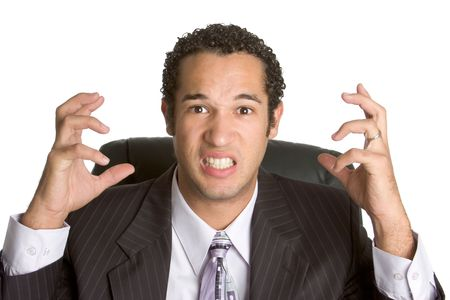 Frustrated Businessman Stock Photo - 2296984