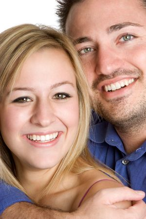 Smiling Couple Stock Photo - 2297016