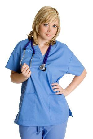 Pretty Nurse Stock Photo - 2297023