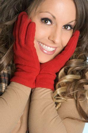 fille hiver: Pretty Girl hiver