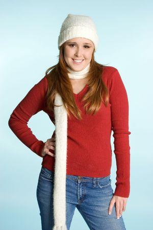 beanies: Winter Fashion Girl