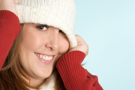 Playful Winter Teen Stock Photo - 2313387