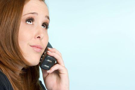 Teen on Phone photo