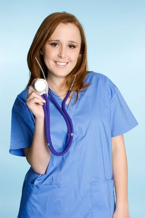 Happy Nurse Stock Photo - 2313388