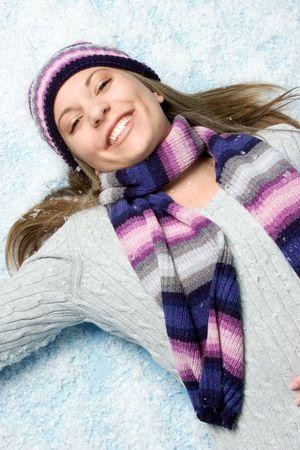 Scarf Girl photo