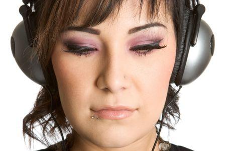 Wearing Headphones photo