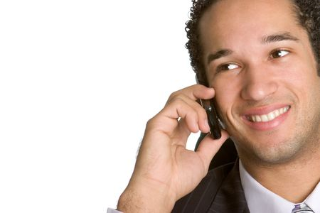 Businessman on Phone Stock Photo - 2336242