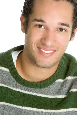 Smiling Casual Man Stock Photo - 2377002