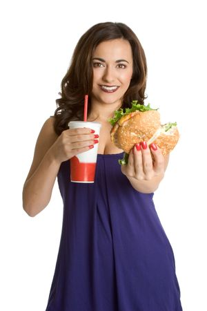 Fast Food Girl photo
