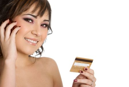 Credit Card Businesswoman photo