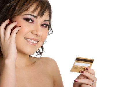Credit Card Businesswoman photo