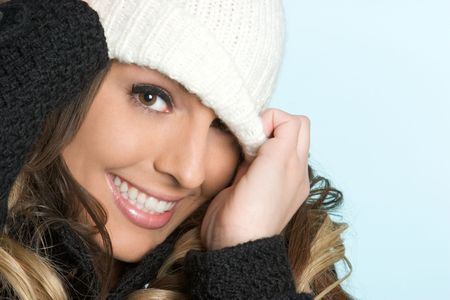 Playful Winter Woman photo