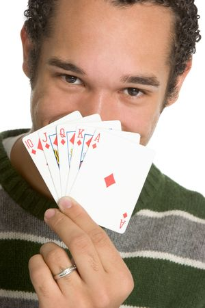 Happy Poker Man photo
