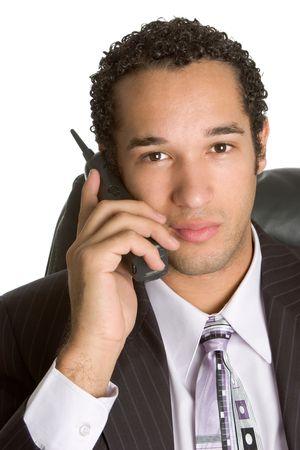 Serious Phone Man photo