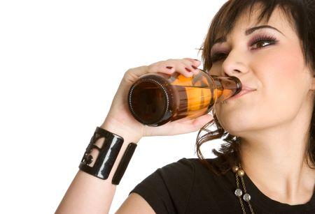Drinking Girl photo