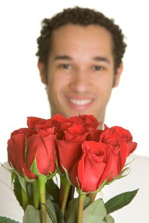 Valentine's Man Stock Photo - 2416957
