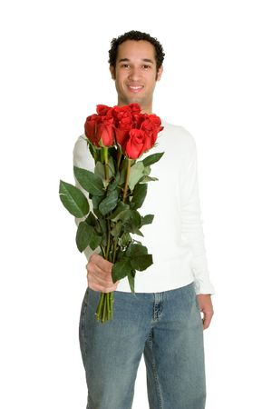 Rose Man Stock Photo - 2416956