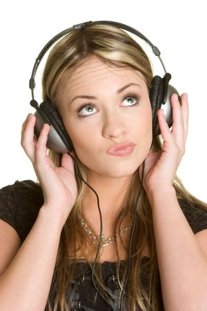 Headphones Teen Stock Photo - 2416962