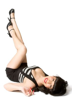 pin up vintage: Gorgeous Pinup Girl  Archivio Fotografico