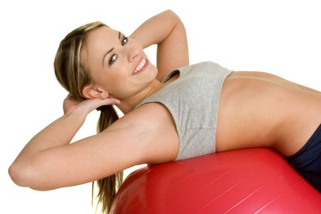 Fitness Girl Stock Photo - 2444549