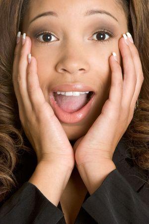 Surprised Woman Stock Photo - 2444555