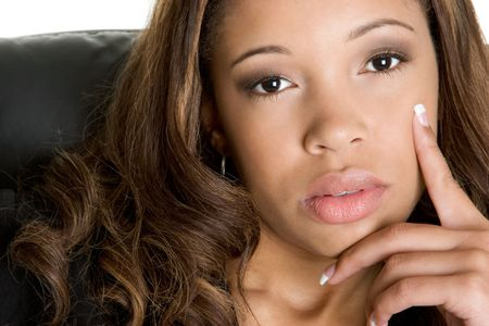 contemplative: Thinking Woman