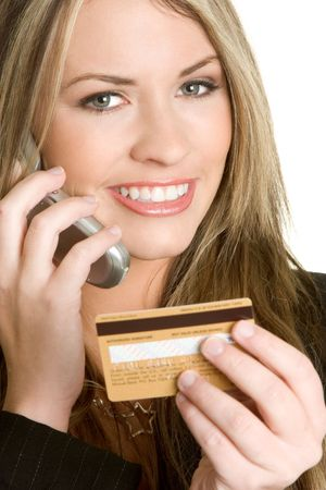 Credit Card Woman photo